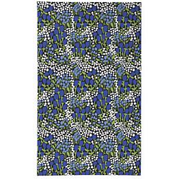 Pöytäliina Finlayson Huiske 145x250 cm musta/sininen
