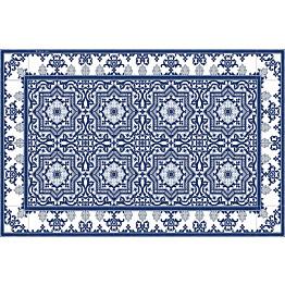 Pöytätabletti Beija Flor Armenian 33x50 cm sinivalkoinen