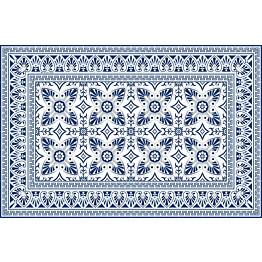 Pöytätabletti Beija Flor Bella 33x50 cm sinivalkoinen