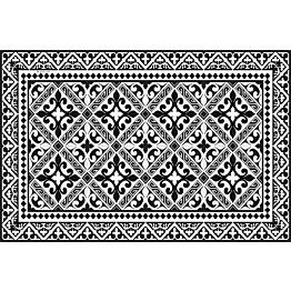 Pöytätabletti Beija Flor Black & White 33x50 cm musta/valkoinen