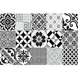 Pöytätabletti Beija Flor Eclectic 33x50 cm musta/valkoinen