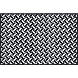 Pöytätabletti Beija Flor Marble Mosaic-2 33x50 cm musta/valkoinen