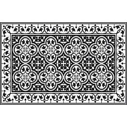 Pöytätabletti Beija Flor Portugal 33x50 cm musta/valkoinen
