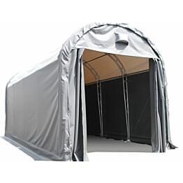Pressutalli Ranch Premium, 5x10x5m, oviaukko 4x4m, 900g/m2
