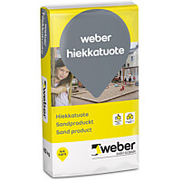 weber Puhallushiekka 0,5-1,2 mm 20 kg