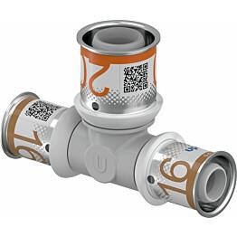 Puristus-T-haara Uponor S-Press Plus, PPSU, 16-20-16mm