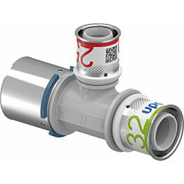 Puristus-T-haara Uponor S-Press Plus, PPSU, 40-25-32mm