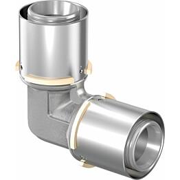 Puristuskulmaliitin Uponor S-Press, DR 50-50mm