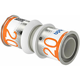 Puristusliitin Uponor S-Press Plus, PPSU, 20-20mm