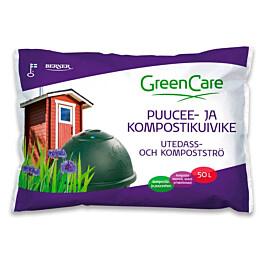 Puucee- ja kompostikuivike GreenCare 50 l säkki
