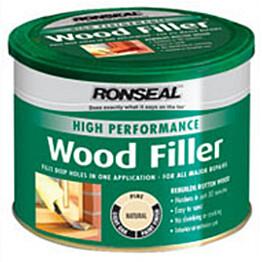 Puukitti Ronseal High Perf Wood filler 275g white valkoinen ulko- ja sisäkäyttöön