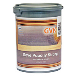 Puuöljy Geve Strong 0.9 l harmaa