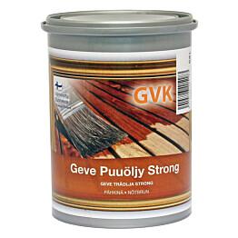 Puuöljy Geve Strong 0.9 l pähkinä