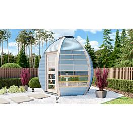 Puutarhamaja Huuden Crown Smart 4,7 m2