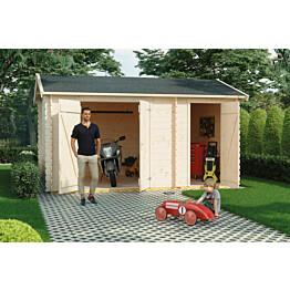 Puutarhavaja Skan Holz Flexi vahvuus 28 mm 420x200 cm (8,4 m²)