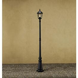 Pylväsvalaisin 7233-750 Firenze musta matta 2200 mm
