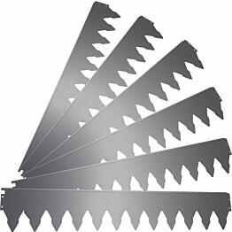 Rajausreuna PP-Tuote 175 mm, Cor-ten teräs, 6-osainen