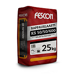 Rappauslaasti Fescon KS 50/50 1,2 mm 25 kg