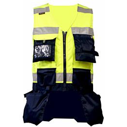Riipputaskuliivi Atex Hi-Vis 5803 keltainen/sininen