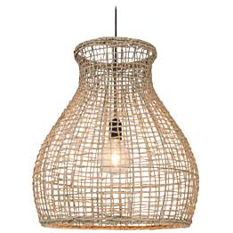 Riippuvalaisin By Rydéns Seagrass 42000010-5507 55 x 48 cm metalli beige/luonnonvalkoinen