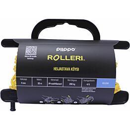 Rolleri Piippo heijastava PP-multifilamentti 4mm x 30m