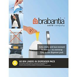 Roskapussi Brabantia PerfectFit A 3 litraa 60 kpl x 12 jakelupakkausta