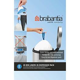 Roskapussi Brabantia PerfectFit E 20 litraa 40 kpl x 12 jakelupakkausta