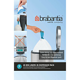 Roskapussi Brabantia PerfectFit F Slimline 20 litraa 40 kpl x 10 jakelupakkausta