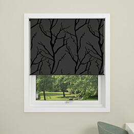 Rullakaihdin Debel Tree 140x175 cm pimentävä harmaa