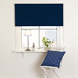 Rullaverho Kirsch 100X165 cm pimentävä sininen