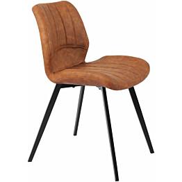 Ruokapöydän tuoli Tenstar Lucas ruskea 2kpl