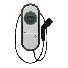 Sähköauton latauslaite Ensto One Home EVH161-HCR00 RCBO IP54 1X16A T2 kiinteällä 5m kaapelilla