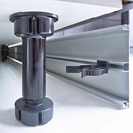 Säätösokkelijalka Ideal Keittiöt 98-120 mm