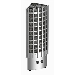 Sähkökiuas Harvia Glow Corner TRC90 9 kW 8-14 m³ kiinteä ohjaus