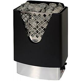 Sähkökiuas Misa Ace 12960 6 kW (5-8 m³) rst/musta