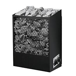 Sähkökiuas Mondex Kymi M 8 kW 7-12 m³ kiinteä ohjaus musta