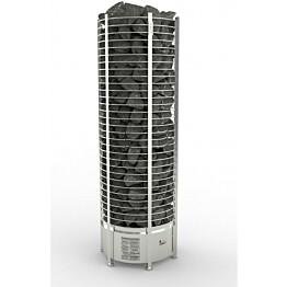 Sähkökiuas Sawo Round Tower 12kW (11-18 m³) erillinen ohjauskeskus