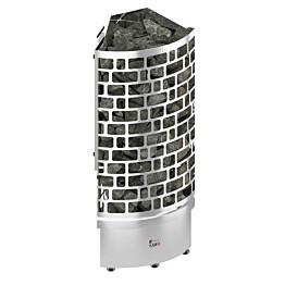 Sähkökiuas Sawo Aries Corner 7,5 kW (7-12 m³) erillinen ohjauskeskus