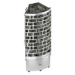 Sähkökiuas Sawo Aries Corner 9 kW (8-14 m³) erillinen ohjauskeskus