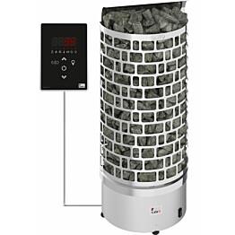 Sähkökiuas SAWO Aries Wall Ni2, 4,5 kW, 3-6m³, erillinen ohjaus