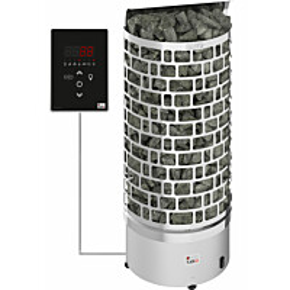 Sähkökiuas SAWO Aries Wall Ni2, 9 kW, 8-13m³, erillinen ohjaus