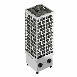Sähkökiuas SAWO Cubos 9 kW 8-14 m³ kiinteä ohjaus