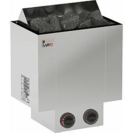 Sähkökiuas Sawo Nordex 8,0 kW (7-13 m³) kiinteä ohjauskeskus