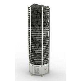 Sähkökiuas Sawo Round Tower 18 kW (18-30 m³) erillinen ohjauskeskus
