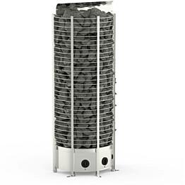 Sähkökiuas Sawo Wall Tower 8 kW (7-13 m³) kiinteä ohjauskeskus