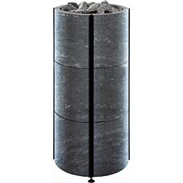 Sähkökiuas Tulikivi Naava 105, 10.5kW, 9-15m³, vuolukivi nobile, erillinen ohjauskeskus