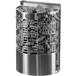 Sähkökiuas Mondex Teno E-malli 6,6 kW 6-9 m³ erillinen ohjaus