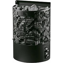 Sähkökiuas Mondex Teno M 9 kW 8-13 m³ kiinteä ohjaus musta