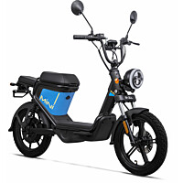 Sähköskootteri Goccia E-zi Mini 25km/h, sininen