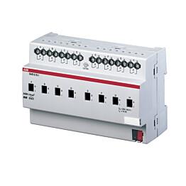 Tuloyksikkö Kytkinyksikkö 230 VAC, 8 x 10 A KNX 8 moduulia SA/S8.10.1